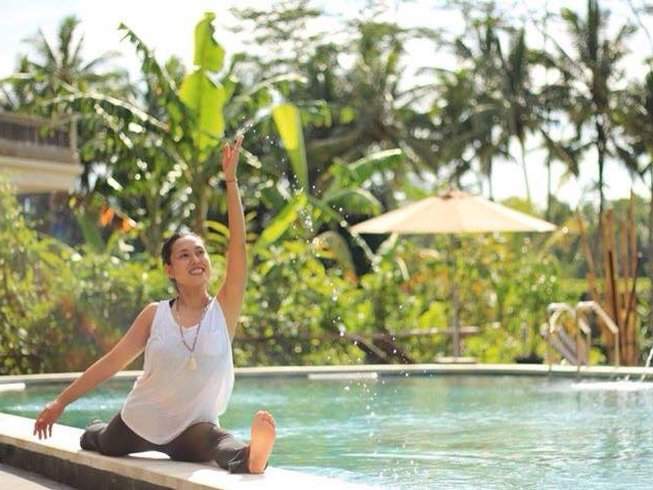 Contact afrikanblues.com for a relaxing Bali yoga retreat in Om Ham retreat center.