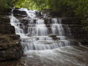 Contact afrikanblues.com and take part in Kundalini Yoga Retreat while staying in private waterfall villas overlooking the Cascadas Farallas Waterfalls.