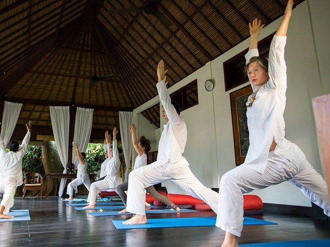 Experience yoga and welness retreat in Sukhavati Estate. Book your trip now, contact afrikanblues.com.