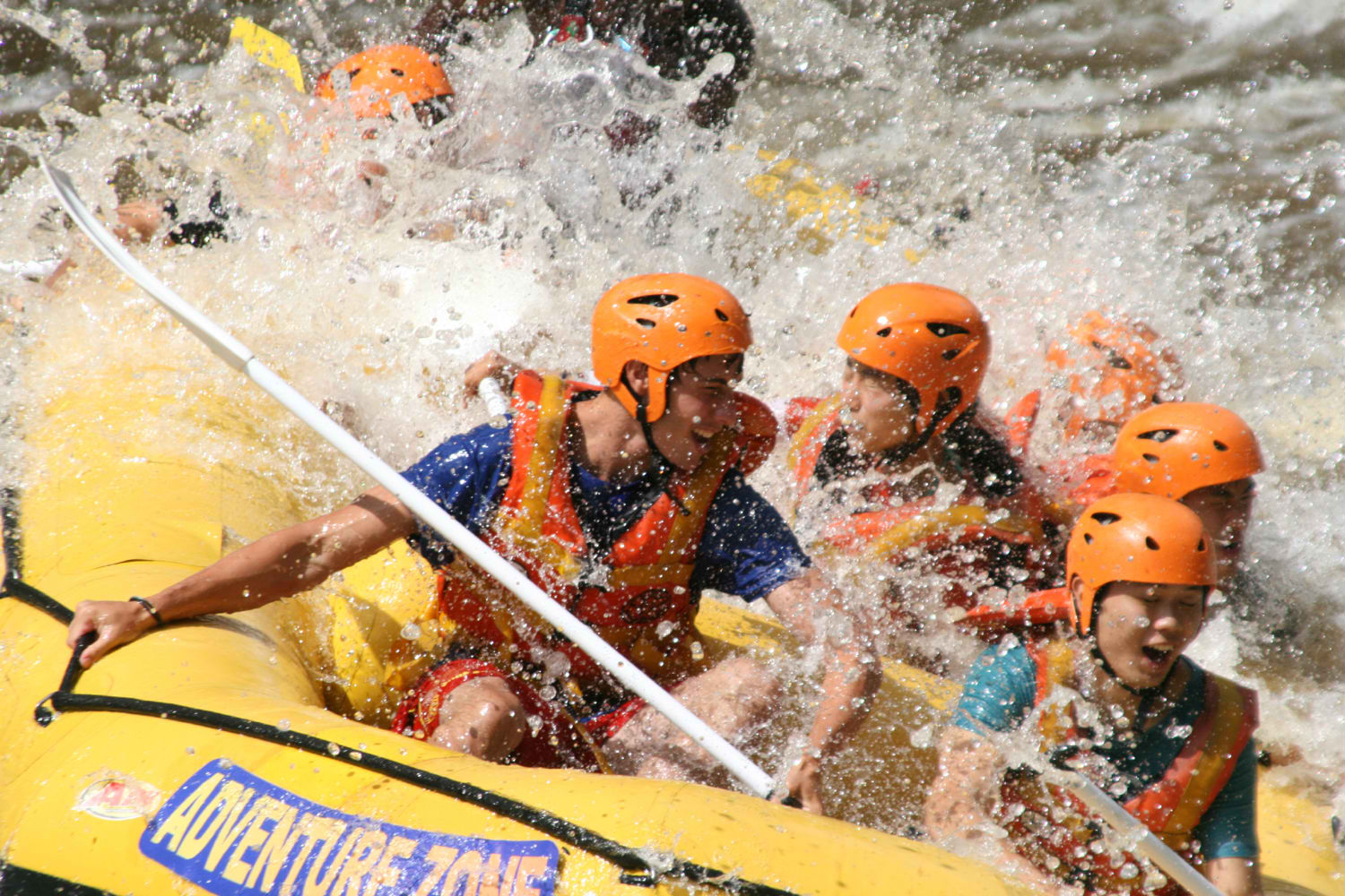 Adventure Zone Victoria Falls will start rafting again 27th May 2012. Check out afrikanblues.com blog for more details.