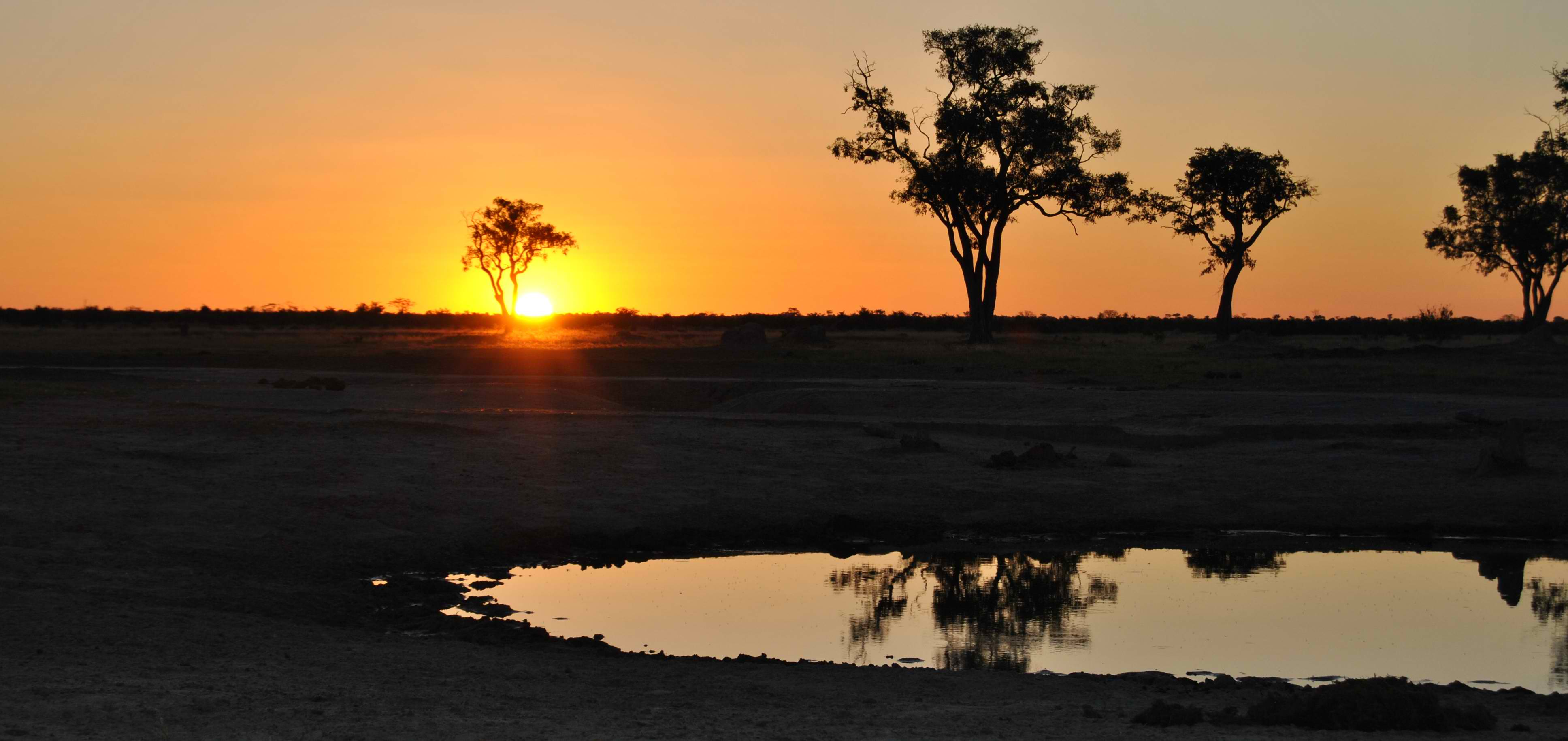 Take a look at this amazing shot of the Sauvati Sunset at afrikanblues.com blog.