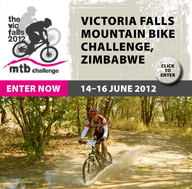 Check out afrikanblues.com blog for the upcoming Victoria Falls Mountain Bike Challenge.